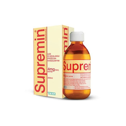 Supremin syrop 4 mg/5ml 200ml