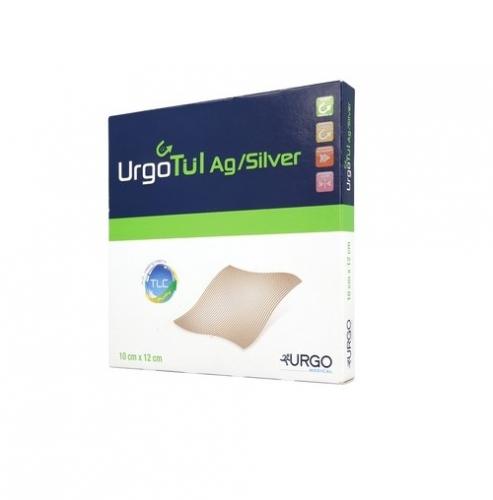 Opatrunek UrgoTul Ag/Silver 10x12 cm 1szt.