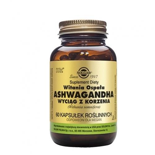 SOLGAR Ashwagandha wyciąg z korzenia 60kap