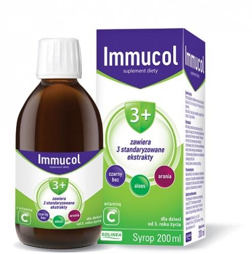 Immucol 3+ syrop 200 ml