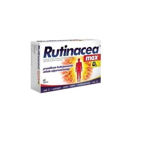 Rutinacea Max D3 tabl. 60 tabl.