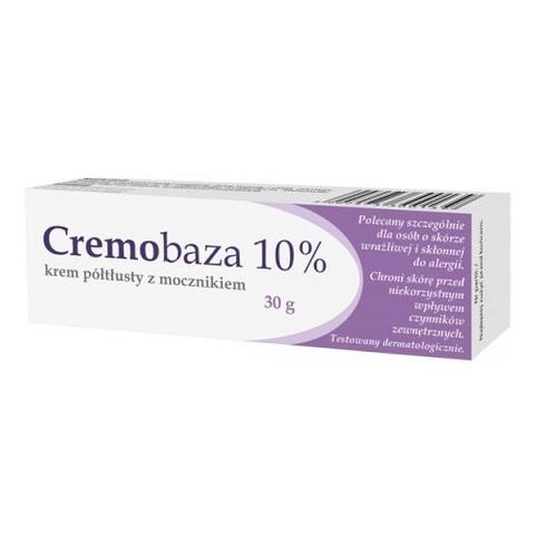 Cremobaza 10% -Krem półt.z mocznik.30g