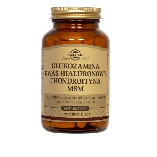 SOLGAR Chlorowodorek Glukozaminy 1000mg