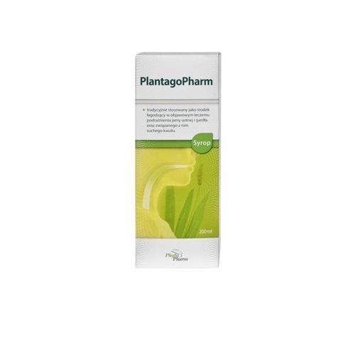 PlantagoPharm syrop 0,506 g/5ml 200 ml