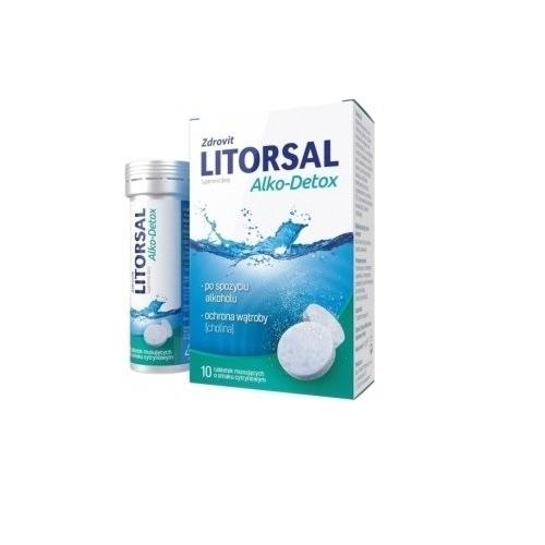 Zdrovit Litorsal Alko-Detox tab.mus.10tab.