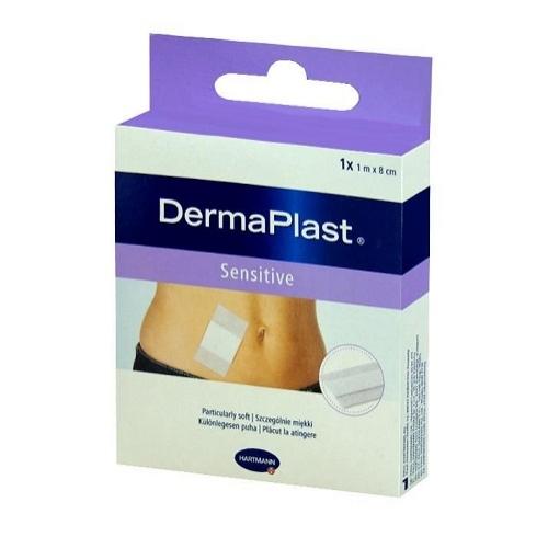 Plaster DERMAPLAST Sensitive 8cmx1m 1szt.