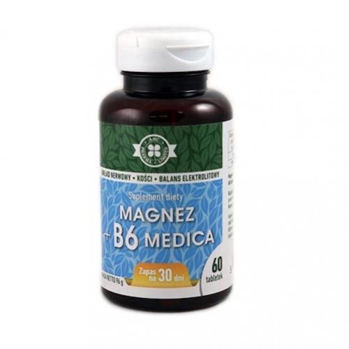 Magnez + B6 Medica tabl. 60 tabl.