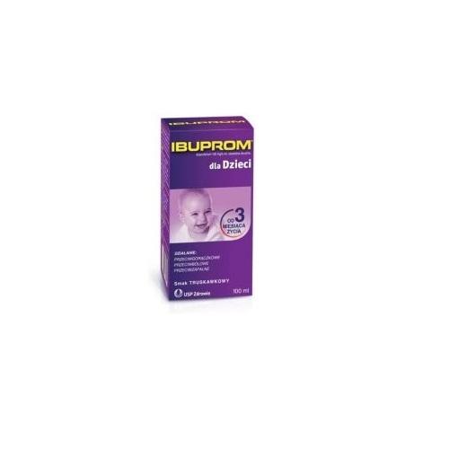 Ibuprom dla Dzieci zaw.doust. 100 ml