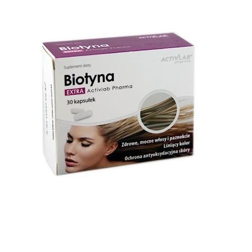 Biotyna Extra Activlab Pharma kaps. 30kaps