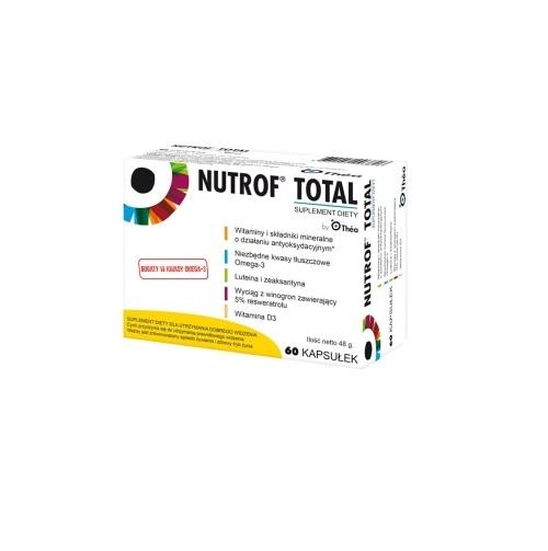 Nutrof Total z Wit. D3 kaps. 60 kaps.