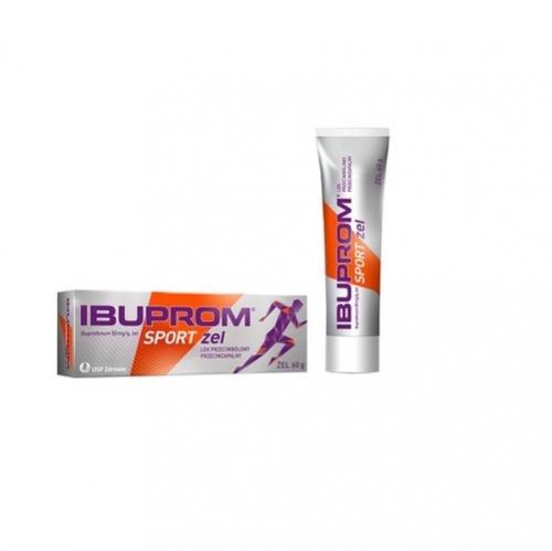 Ibuprom Sport żel żel 0,05 g/g 60g