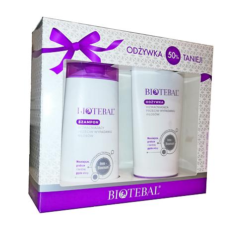 BIOTEBAL Pakiet prom.szampon+odżyw.2x200ml
