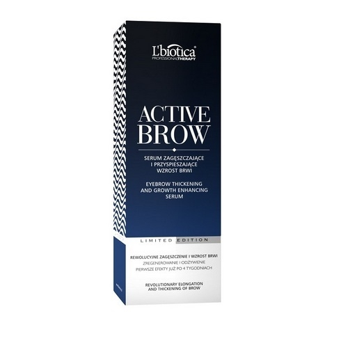 L'BIOTICA ActiveBrow Serum do brwi 3,5 ml