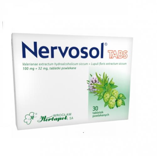 Nervosol TABS tabl.powl. 0,1g+0,032g 30tab