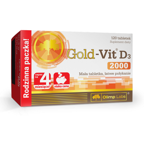OLIMP Gold-Vit D3 2000 tabl. 120 tabl.