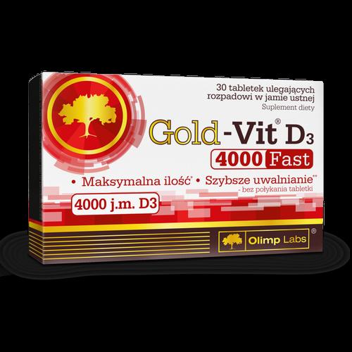 Olimp Gold-Vit D3 4000j.m.Fast 30 tabl.
