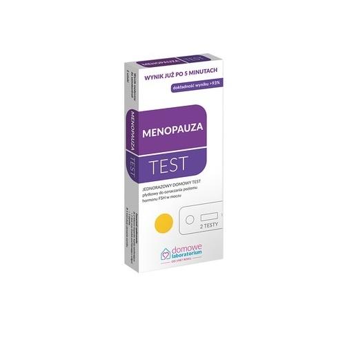 MENOPAUZA Test płytkowy 1op.(2testy)
