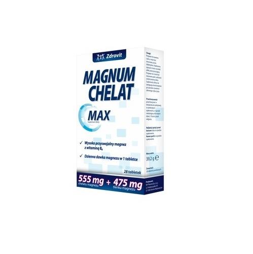 Zdrovit Magnum Chelat Max tabl.pow.28 tab.