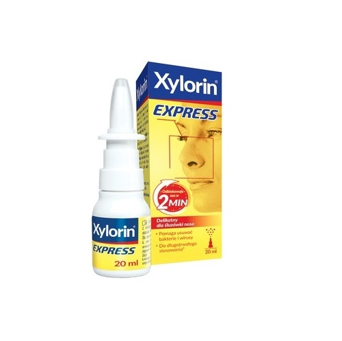 Xylorin Express spray d/nosa 20 ml