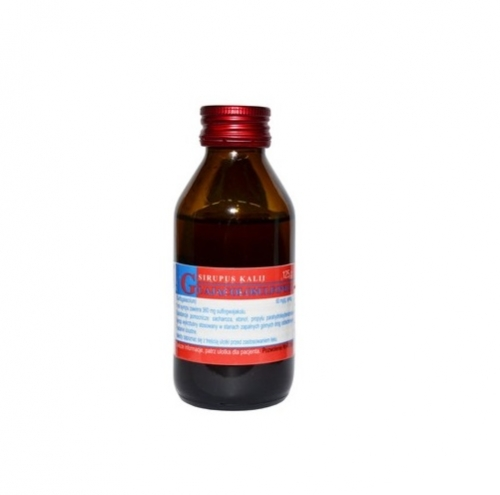 Syrop Kalii guajacolosulfonici 125g VIS