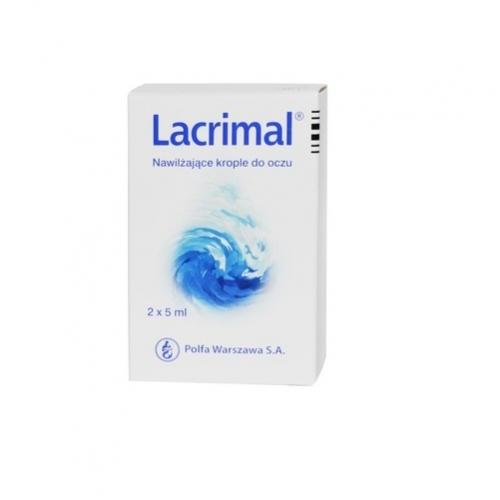 Lacrimal nawilżające krople 2x5ml