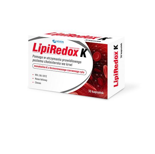 LipiRedox K kaps. 30 kaps.