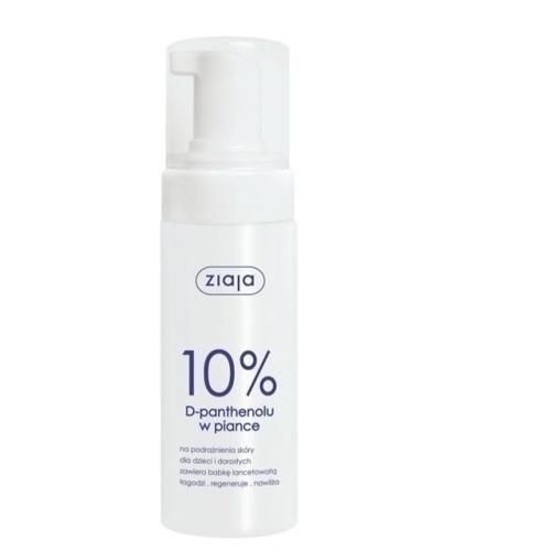 ZIAJA 10% D-Panthenolu w Piance 150 ml