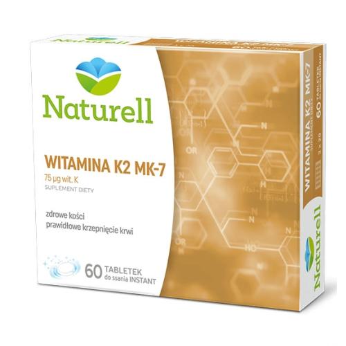 NATURELL Witamina K2 MK-7 tab.doss.60 tab.