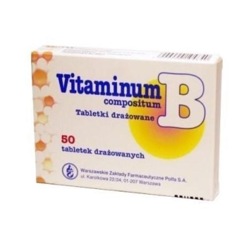 Witamina B com.tab.draż.50 tabl.Polfa W-wa | Apteka internetowa, antyperspirant, avent, bioderma, bioliq, canpol, cera trądzikowa preparaty, dermokosmetyki, geriavit, grzybica leki bez recepty, himalaya, kreon, leki bez recepty, leki na grypę, leki na przeziębienie, leki na uspokojenie, mascara med., maxigra go, maxon, mensil, mugga, mustela, odchudzanie leki, odporność, pirolam, tabletki na ból gardła, test ciążowy, tran mollers, vichy, witamina d, wszy preparaty, zapalenie stawów, zestawy kosmetyków, ziaja