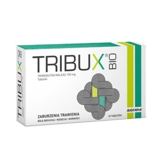 Tribux Bio tabl. 0,1 g 10 tabl. | Apteka internetowa, antyperspirant, avent, bioderma, bioliq, canpol, cera trądzikowa preparaty, dermokosmetyki, geriavit, grzybica leki bez recepty, himalaya, kreon, leki bez recepty, leki na grypę, leki na przeziębienie, leki na uspokojenie, mascara med., maxigra go, maxon, mensil, mugga, mustela, odchudzanie leki, odporność, pirolam, tabletki na ból gardła, test ciążowy, tran mollers, vichy, witamina d, wszy preparaty, zapalenie stawów, zestawy kosmetyków, ziaja