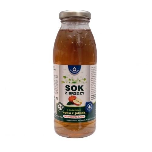 Sok z brzozy z jabłkiem b/cukru 300 ml