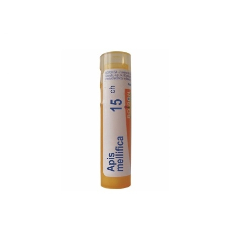 BOIRON Apis mellifica 15 CH granulki 4 g | Apteka internetowa, antyperspirant, avent, bioderma, bioliq, canpol, cera trądzikowa preparaty, dermokosmetyki, geriavit, grzybica leki bez recepty, himalaya, kreon, leki bez recepty, leki na grypę, leki na przeziębienie, leki na uspokojenie, mascara med., maxigra go, maxon, mensil, mugga, mustela, odchudzanie leki, odporność, pirolam, tabletki na ból gardła, test ciążowy, tran mollers, vichy, witamina d, wszy preparaty, zapalenie stawów, zestawy kosmetyków, ziaja