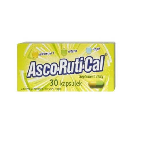 Ascorutical kaps. 30 kaps.