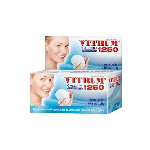 Vitrum Calcium 1250+Vit D3 tabl. 60 tabl.