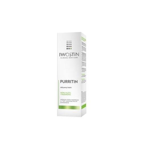 IWOSTIN PURRITIN Aktywny krem 40 ml