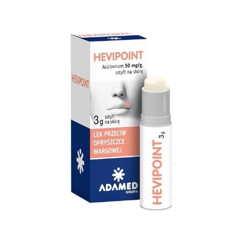 HeviPoint sztyft 0,05 g/g 1 szt.