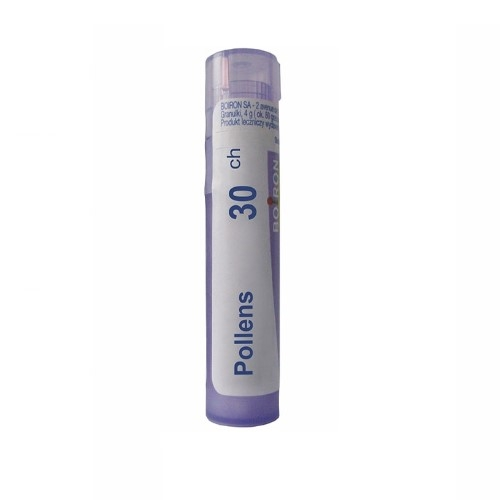 BOIRON Pollens 30 CH granulki 4 g | Apteka internetowa, antyperspirant, avent, bioderma, bioliq, canpol, cera trądzikowa preparaty, dermokosmetyki, geriavit, grzybica leki bez recepty, himalaya, kreon, leki bez recepty, leki na grypę, leki na przeziębienie, leki na uspokojenie, mascara med., maxigra go, maxon, mensil, mugga, mustela, odchudzanie leki, odporność, pirolam, tabletki na ból gardła, test ciążowy, tran mollers, vichy, witamina d, wszy preparaty, zapalenie stawów, zestawy kosmetyków, ziaja