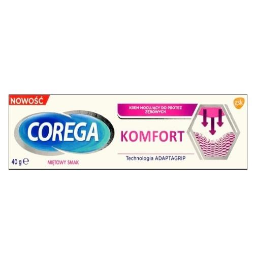 Corega Komfort krem 40 g   Apteka internetowa, antyperspirant, avent, bioderma, bioliq, canpol, cera trądzikowa preparaty, dermokosmetyki, geriavit, grzybica leki bez recepty, himalaya, kreon, leki bez recepty, leki na grypę, leki na przeziębienie, leki na uspokojenie, mascara med., maxigra go, maxon, mensil, mugga, mustela, odchudzanie leki, odporność, pirolam, tabletki na ból gardła, test ciążowy, tran mollers, vichy, witamina d, wszy preparaty, zapalenie stawów, zestawy kosmetyków, ziaja