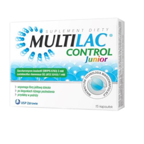 Multilac Control Junior kaps. 15 kaps. | Apteka internetowa, antyperspirant, avent, bioderma, bioliq, canpol, cera trądzikowa preparaty, dermokosmetyki, geriavit, grzybica leki bez recepty, himalaya, kreon, leki bez recepty, leki na grypę, leki na przeziębienie, leki na uspokojenie, mascara med., maxigra go, maxon, mensil, mugga, mustela, odchudzanie leki, odporność, pirolam, tabletki na ból gardła, test ciążowy, tran mollers, vichy, witamina d, wszy preparaty, zapalenie stawów, zestawy kosmetyków, ziaja