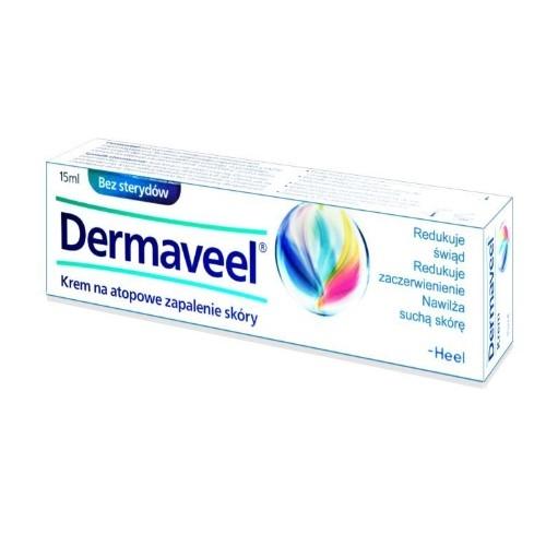 HEEL DERMAVEEL krem 15 ml (tuba) | Apteka internetowa, antyperspirant, avent, bioderma, bioliq, canpol, cera trądzikowa preparaty, dermokosmetyki, geriavit, grzybica leki bez recepty, himalaya, kreon, leki bez recepty, leki na grypę, leki na przeziębienie, leki na uspokojenie, mascara med., maxigra go, maxon, mensil, mugga, mustela, odchudzanie leki, odporność, pirolam, tabletki na ból gardła, test ciążowy, tran mollers, vichy, witamina d, wszy preparaty, zapalenie stawów, zestawy kosmetyków, ziaja