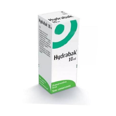 Hydrabak krop.do oczu 0,9 % 10 ml