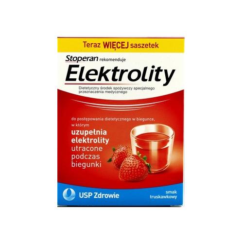 Elektrolity smak truskawka prosz. 7sasz.