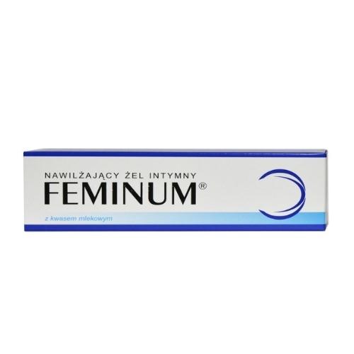 Żel Feminum nawilż.intymny d/kobiet 60g | Apteka internetowa, antyperspirant, avent, bioderma, bioliq, canpol, cera trądzikowa preparaty, dermokosmetyki, geriavit, grzybica leki bez recepty, himalaya, kreon, leki bez recepty, leki na grypę, leki na przeziębienie, leki na uspokojenie, mascara med., maxigra go, maxon, mensil, mugga, mustela, odchudzanie leki, odporność, pirolam, tabletki na ból gardła, test ciążowy, tran mollers, vichy, witamina d, wszy preparaty, zapalenie stawów, zestawy kosmetyków, ziaja
