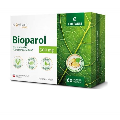 Bioparol (Biovitum liquid) kaps. 60 kaps.