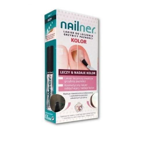 Nailner kolor Lakier do paznokci 10 ml