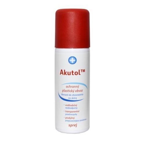 Akutol opatr.elast.w aerosol 60 ml