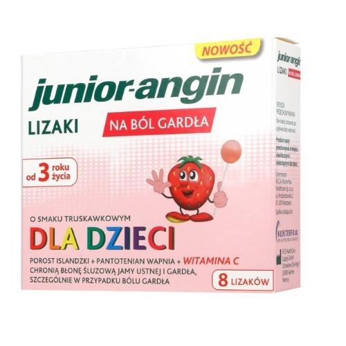 Junior-angin lizaki lizaki 1op.(8szt.)