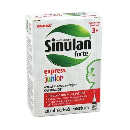 Sinulan Expr.Forte Junior aer.donosa 20ml