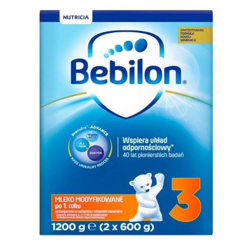 Bebilon Junior 3 z Pronutra+ prosz. 1200g