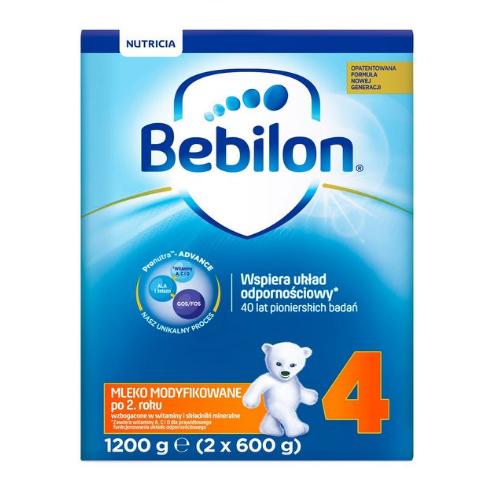 Bebilon Junior 4 z Pronutra+ prosz. 1200g